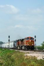 BNSF 4587